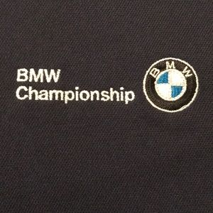 Adidas golf  polo shirt BMW Golf championship